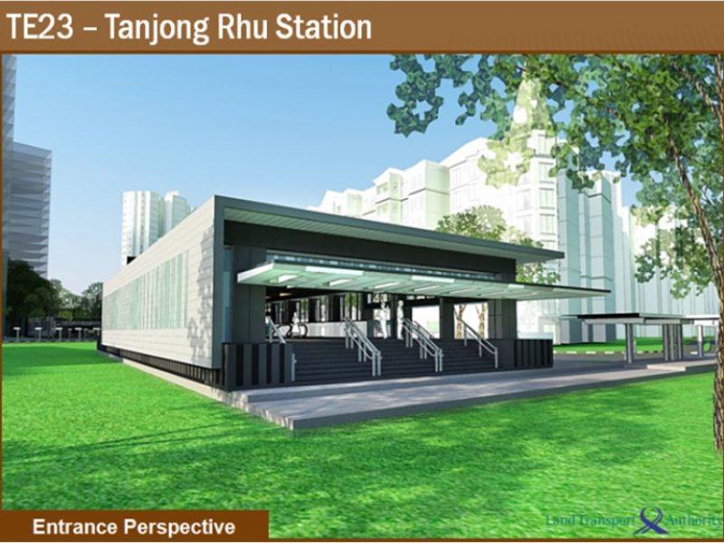Key Projects 1 - TE23 Tanjong Rhu Station